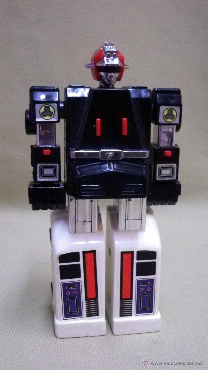 Figuras y Muñecos Transformers: MEGA RARO TRANSFORMERS, TURBORAGER, POWER RANGER, BANDAI 1989 - Foto 8 - 39920146