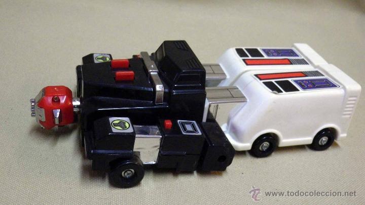Figuras y Muñecos Transformers: MEGA RARO TRANSFORMERS, TURBORAGER, POWER RANGER, BANDAI 1989 - Foto 9 - 39920146