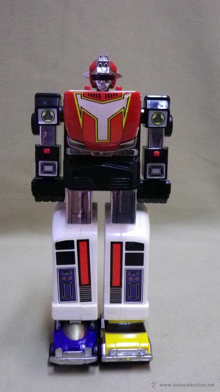 Figuras y Muñecos Transformers: MEGA RARO TRANSFORMERS, TURBORAGER, POWER RANGER, BANDAI 1989 - Foto 11 - 39920146