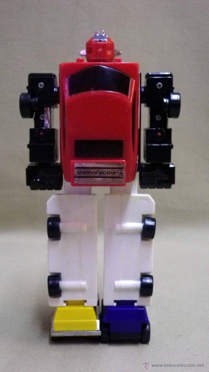 Figuras y Muñecos Transformers: MEGA RARO TRANSFORMERS, TURBORAGER, POWER RANGER, BANDAI 1989 - Foto 12 - 39920146