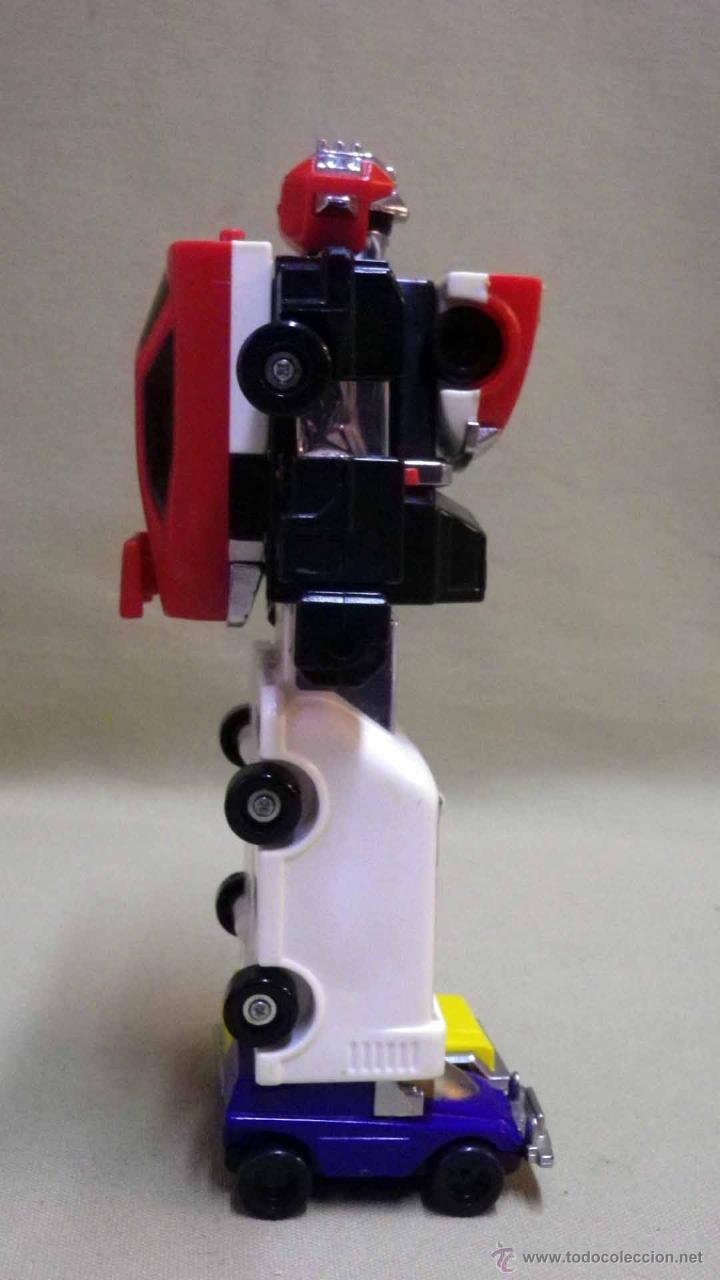 Figuras y Muñecos Transformers: MEGA RARO TRANSFORMERS, TURBORAGER, POWER RANGER, BANDAI 1989 - Foto 13 - 39920146