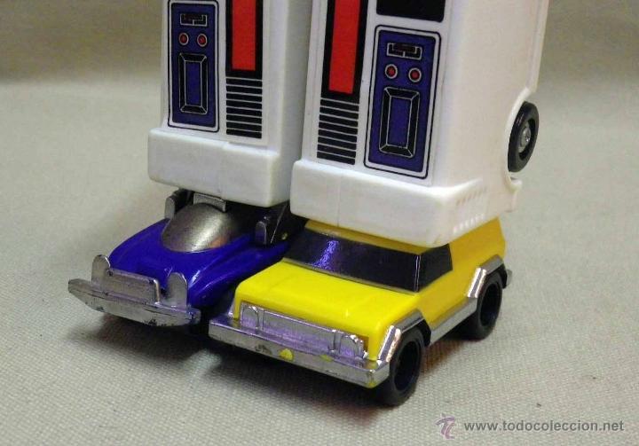 Figuras y Muñecos Transformers: MEGA RARO TRANSFORMERS, TURBORAGER, POWER RANGER, BANDAI 1989 - Foto 14 - 39920146