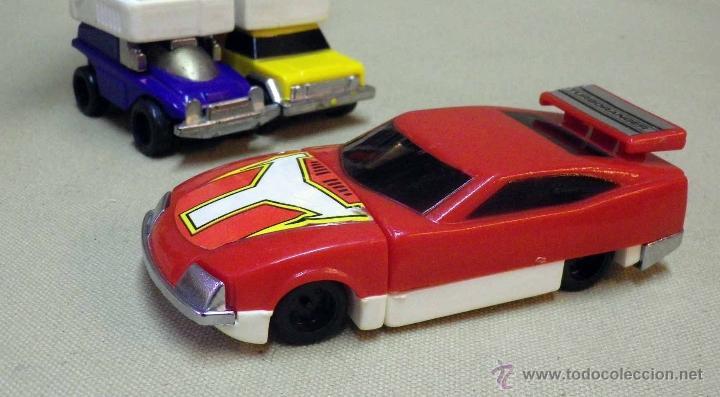 Figuras y Muñecos Transformers: MEGA RARO TRANSFORMERS, TURBORAGER, POWER RANGER, BANDAI 1989 - Foto 17 - 39920146
