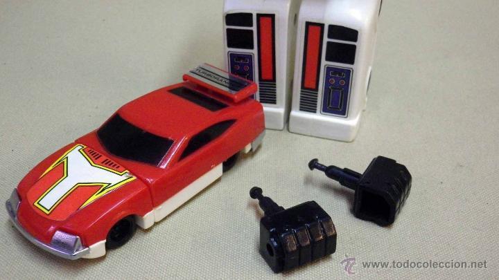 Figuras y Muñecos Transformers: MEGA RARO TRANSFORMERS, TURBORAGER, POWER RANGER, BANDAI 1989 - Foto 18 - 39920146