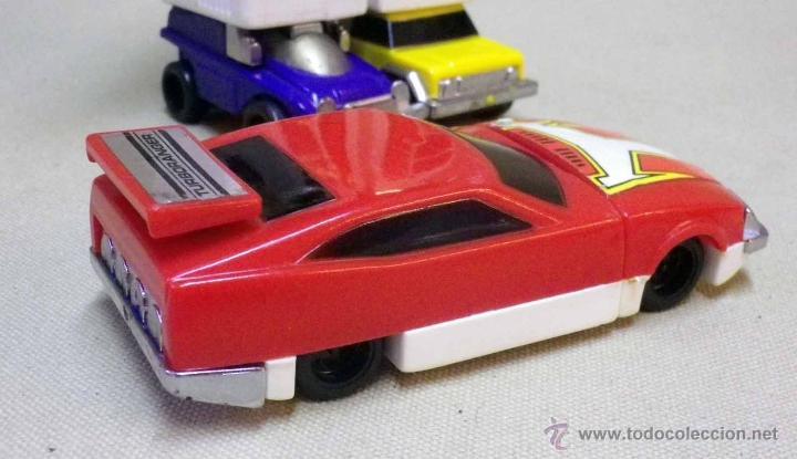 Figuras y Muñecos Transformers: MEGA RARO TRANSFORMERS, TURBORAGER, POWER RANGER, BANDAI 1989 - Foto 19 - 39920146