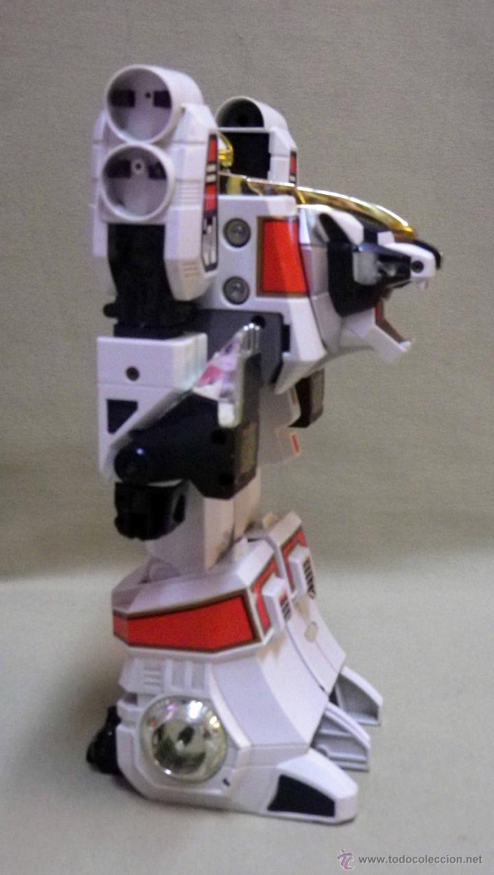 Figuras y Muñecos Transformers: TRANSFORMERS, TIGERZORD, POWER RANGER, TIGER 1994 BANDAI THAILAND - Foto 7 - 39920527