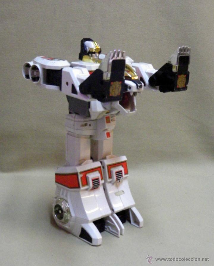 Figuras y Muñecos Transformers: TRANSFORMERS, TIGERZORD, POWER RANGER, TIGER 1994 BANDAI THAILAND - Foto 8 - 39920527
