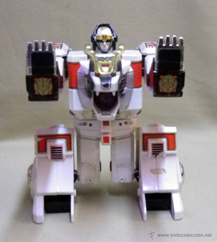 Figuras y Muñecos Transformers: TRANSFORMERS, TIGERZORD, POWER RANGER, TIGER 1994 BANDAI THAILAND - Foto 9 - 39920527