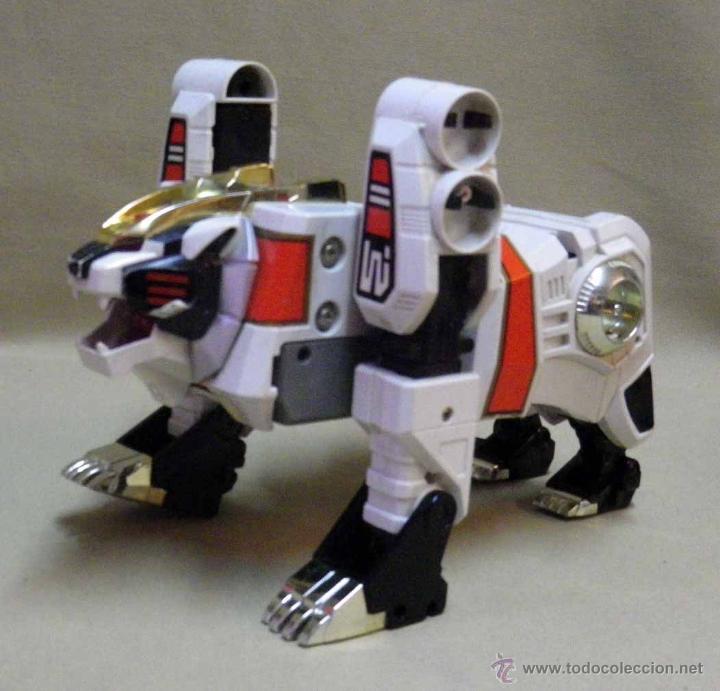 Figuras y Muñecos Transformers: TRANSFORMERS, TIGERZORD, POWER RANGER, TIGER 1994 BANDAI THAILAND - Foto 10 - 39920527