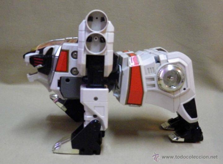 Figuras y Muñecos Transformers: TRANSFORMERS, TIGERZORD, POWER RANGER, TIGER 1994 BANDAI THAILAND - Foto 11 - 39920527