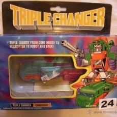 Figuras y Muñecos Transformers: ANTIGUO TRANSFORMERS TRIPLE CHANGER DUNE BUGGY - TRES EN UNO. Lote 40728390