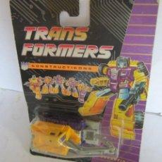 Figuras y Muñecos Transformers: TRANSFORMERS, CONSTRUCTICONS, DECEPTICON, AÑO 1991, DE HASBRO, EN BLISTER. CC. Lote 42703128
