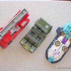 Figuras y Muñecos Transformers: LOTE 3 FIGURAS TRANSFORMERS HASBRO: ROLLBAR, OPTIMUS PRIME Y SHORTROUND. Lote 42730531