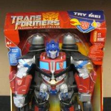 Figure e Bambolotti Transformers: 818- TRANSFORMERS. OPTIMUS PRIME. MEGA POWER BOTS. HASBRO 2009 32 CMS. Lote 42986063