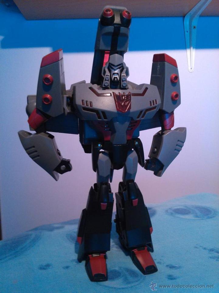 TRANSFORMERS ANIMATED MEGATRON HASBRO (Juguetes - Figuras de Acción - Transformers)