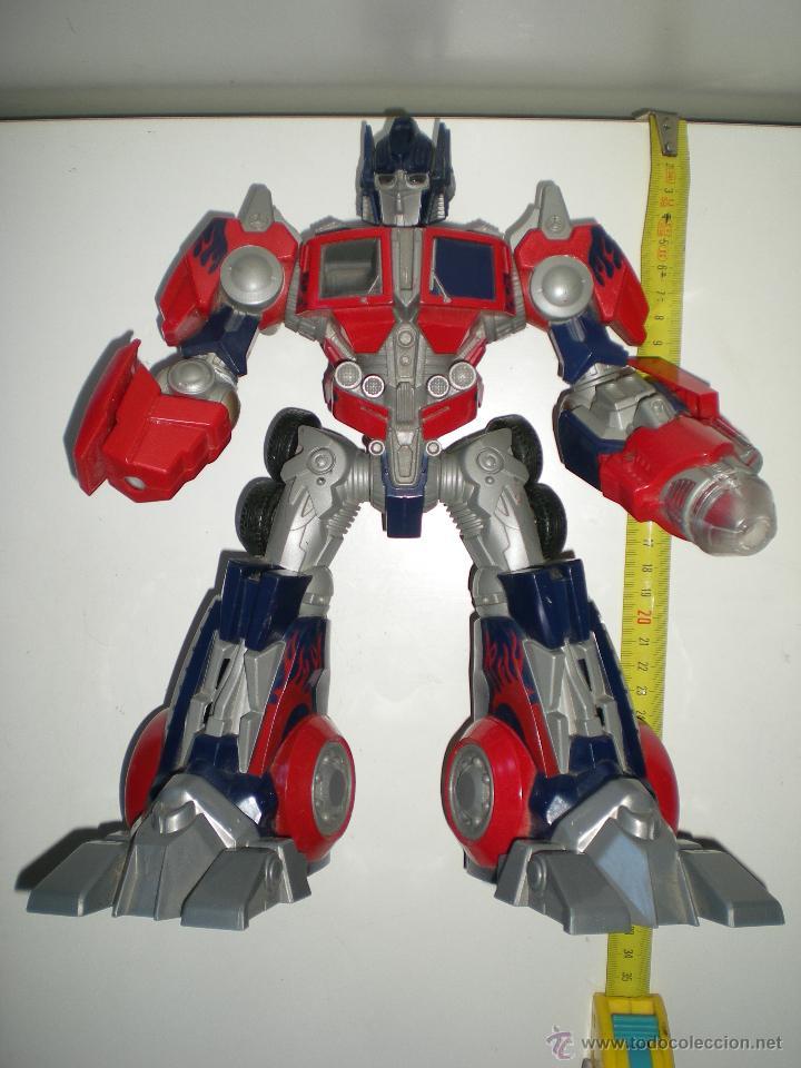 TRANSFORMERS HASBRO LEADER OPTIMUS AUTOBOT DECEPTICON MULTITUD DE DETALLES SONIDOS LUCES 30 CM (Juguetes - Figuras de Acción - Transformers)