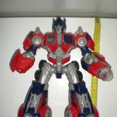 Figuras y Muñecos Transformers: TRANSFORMERS HASBRO LEADER OPTIMUS AUTOBOT DECEPTICON MULTITUD DE DETALLES SONIDOS LUCES 30 CM. Lote 44320687