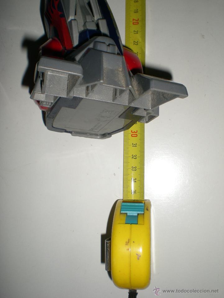 Figuras y Muñecos Transformers: TRANSFORMERS HASBRO LEADER OPTIMUS AUTOBOT DECEPTICON multitud de detalles sonidos luces 30 cm - Foto 2 - 44320687