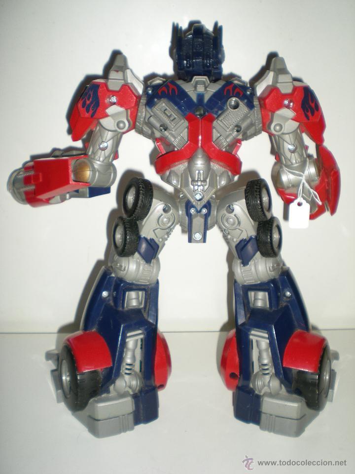Figuras y Muñecos Transformers: TRANSFORMERS HASBRO LEADER OPTIMUS AUTOBOT DECEPTICON multitud de detalles sonidos luces 30 cm - Foto 4 - 44320687