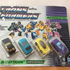 Figuras y Muñecos Transformers: TRANSFORMERS MICROMASTER DECEPTICON HASBRO. Lote 45164804