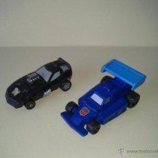 Figuras y Muñecos Transformers: TRANSFORMERS HASBRO TAKARA SPARKABOTS FIZZLE Y SIZZLE G1 (1988). Lote 45340020