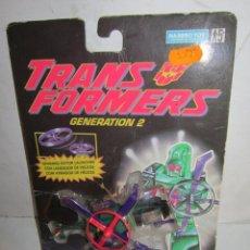 Figuras y Muñecos Transformers: TRANSFORMERS GENERATION 2 ROTORBOTS BLADE, DE HASBRO, EN BLISTER. CC. Lote 212474696