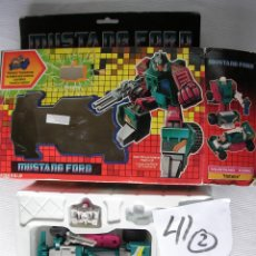 Figuras y Muñecos Transformers: ANTIGUA CAJA CON TRANSFORMERS MUSTANG FORD HOTWIRE NUEVO EN SU CAJA SIN USAR. Lote 95511796