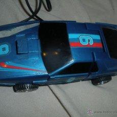 Figuras y Muñecos Transformers: COCHE TRANSFORMER,DIRIGIDO POR CABLE,FABRICADO EN HONG KONG.. Lote 46198085