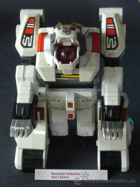 TIGERZORD DE BANDAI-TRANSFORMER-ARTICULADO-JU019* (Juguetes - Figuras de Acción - Transformers)