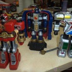 Figuras y Muñecos Transformers: TRANSFORMERS DE BANDAI - LOTE DE 3 FIGURAS DE 1995 + 1 DE REGALO.. Lote 47759811
