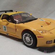 Figuras y Muñecos Transformers: COCHE CORVETTE FIGURA TRANSFORMERS TRADEMARK GM . Lote 49916663