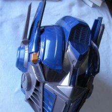 Figuras y Muñecos Transformers: GRAN CASCO TRANSFORMERS OPTIMUS CON SONIDO ORIGINAL EN ESPAÑOL. Lote 50161835