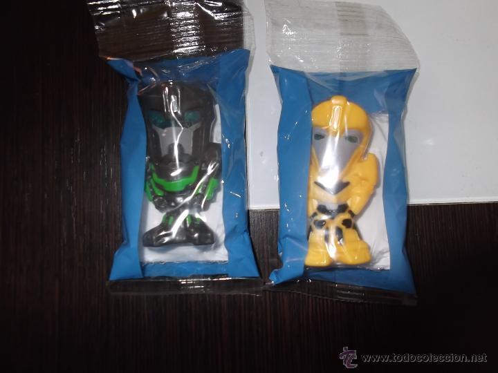 2 FIGURAS DE TRANSFORMERS BUMBLEBEE Y GRIMLOCK DE CHOCAPIC NO MATUTANO,BOLLYCAO,CROPAN (Juguetes - Figuras de Acción - Transformers)