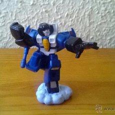 Figuras y Muñecos Transformers: FIGURA DE GOMA TRANSFORMERS HASBRO 2006 BRAZOS ARTICULADOS 7 CM ALTURA. Lote 50584995