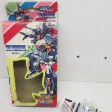 Figuras y Muñecos Transformers: ROBOT TRANSFORMERS BATTLE SKYHAWK - SPACE X - AÑOS 80. Lote 237330510