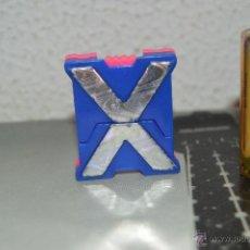 Figuras y Muñecos Transformers: LETRAS TRANSFORMABLE EN ROBOT ROBOTS TRANSFORMERS LETRA X. Lote 51171201