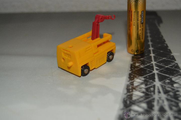 Figuras y Muñecos Transformers: PEQUEÑO robot robots transformers GRUA - Foto 3 - 51171538