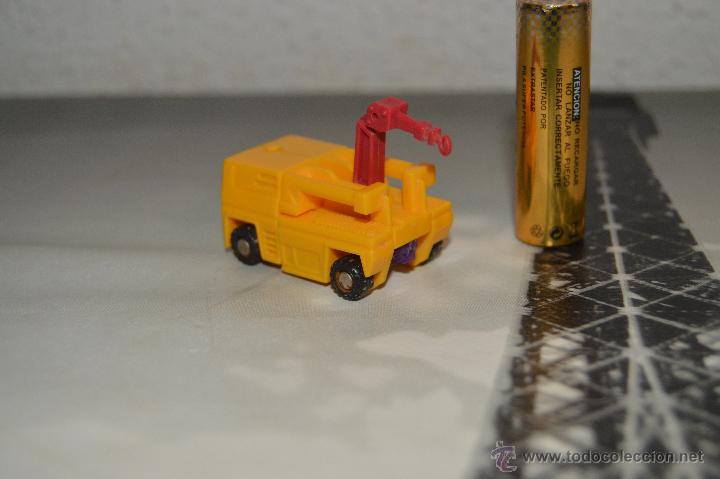 Figuras y Muñecos Transformers: PEQUEÑO robot robots transformers GRUA - Foto 4 - 51171538