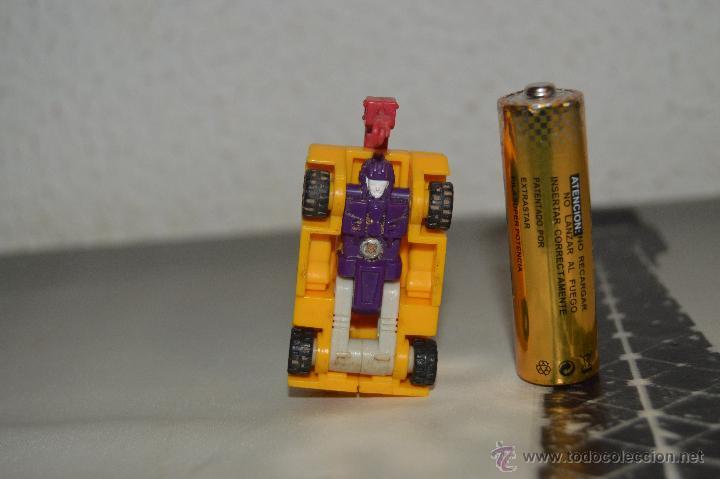 Figuras y Muñecos Transformers: PEQUEÑO robot robots transformers GRUA - Foto 5 - 51171538