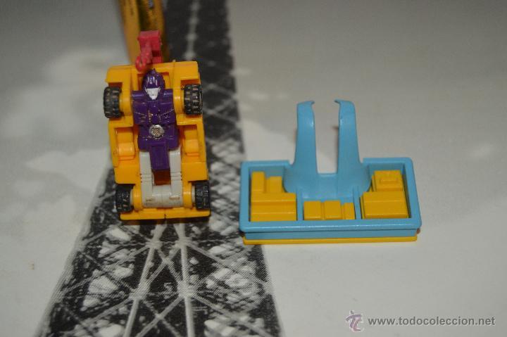 Figuras y Muñecos Transformers: PEQUEÑO robot robots transformers GRUA - Foto 8 - 51171538