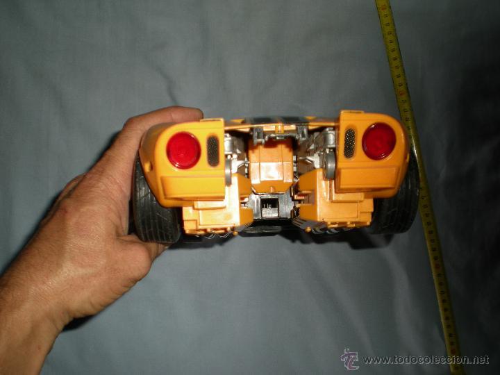 Figuras y Muñecos Transformers: coche grande BUMBLEBEE DE TRANSFORMERS PARA REPARAR O PIEZAS MIRA FOTOS - Foto 6 - 51460523