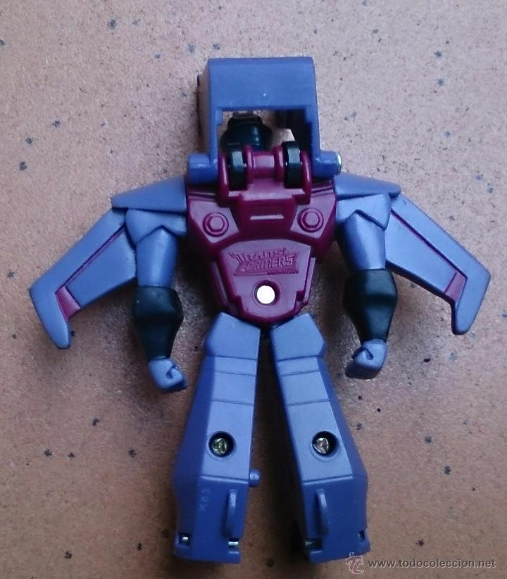 Figuras y Muñecos Transformers: Figura Transformers Hasbro 2008 McDonalds Starscream - Foto 2 - 51526292