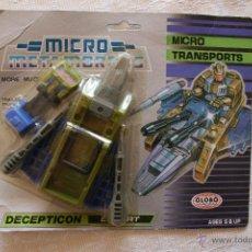 Figuras y Muñecos Transformers: TRANSFORMERS MICRO TRANSPORT DECEPTICON ESCORT MICRO METAMORPHS. Lote 51543481