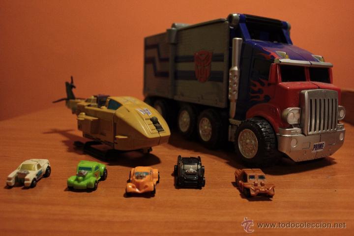 PACK LOTE TRANSFORMERS VINTAGE OPTIMUS PRIME AUTOBOTS PRIMERA GENERACION (Juguetes - Figuras de Acción - Transformers)