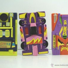 Figuras y Muñecos Transformers: MUY RAROS COCHES TRANSFORMERS - DE LIWACO TOYS 1991 - LIWACOTOYS. Lote 53422484