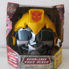 Figuras y Muñecos Transformers: CABEZA CASCO TRANSFORMER BUMBLEBEE VOICE MIXER HASBRO 2009. Lote 53615479