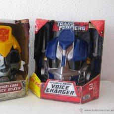 Figuras y Muñecos Transformers: UNICO! CABEZA CASCO TRANSFORMER OPTIMUS PRIME HASBRO 2009. Lote 69412266