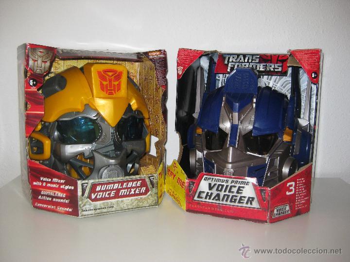 Figuras y Muñecos Transformers: UNICO! CABEZA CASCO TRANSFORMER OPTIMUS PRIME HASBRO 2009 - Foto 3 - 69412266
