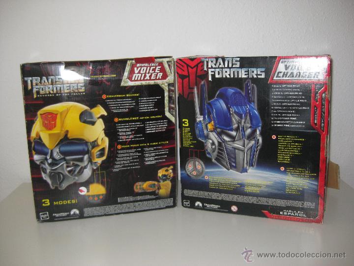 Figuras y Muñecos Transformers: UNICO! CABEZA CASCO TRANSFORMER OPTIMUS PRIME HASBRO 2009 - Foto 4 - 69412266