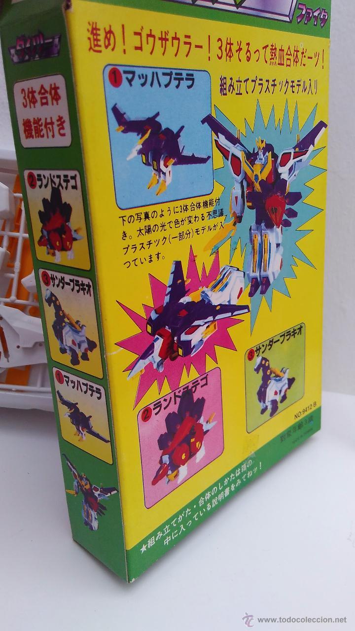 Figuras y Muñecos Transformers: transformers transformer vintage piezas para armar en su caja sin estrenar - Foto 2 - 54207820